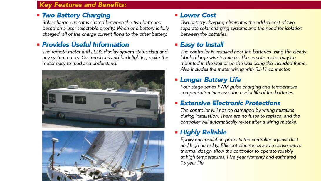 320 WATT RV Solar panel system kit