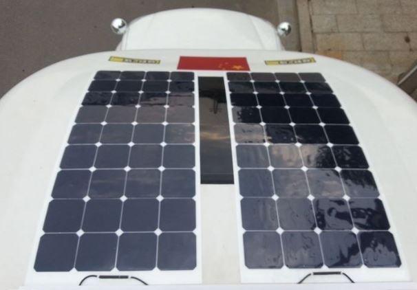 Portable Solar 120 Watt Kit Bha Solar