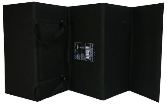120w folding solar panel back view